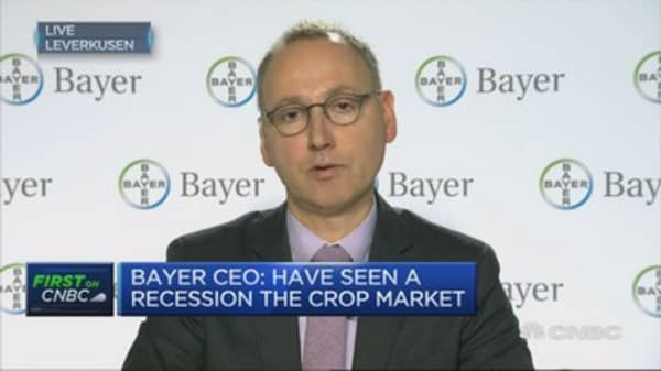 Monsanto deal is a complementary merger, says Bayer CEO