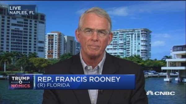 Rep. Rooney: Americans yearning for tax reform