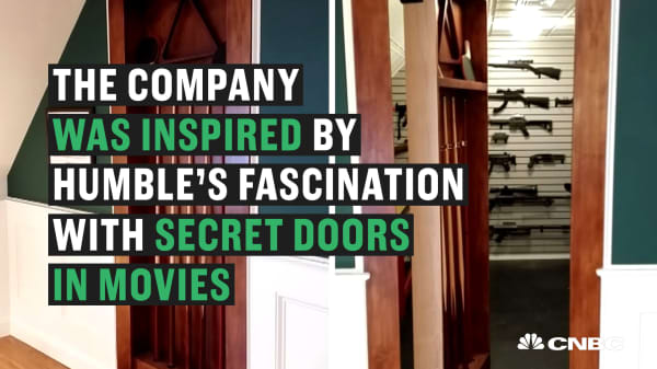 This engineer quit his day job and now makes millions building secret doors