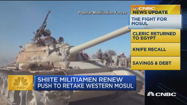 CNBC update: The fight for Mosul