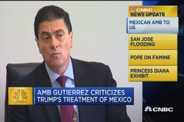 CNBC update: Mexican Amb to US