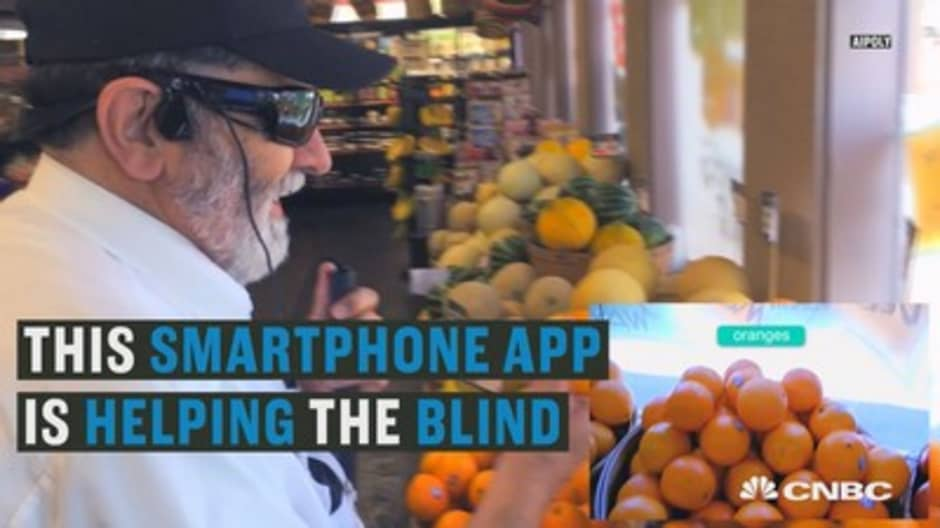 This app is helping the blind 'see'
