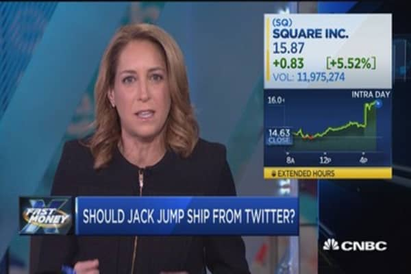 Should Jack jump ship from Twitter?