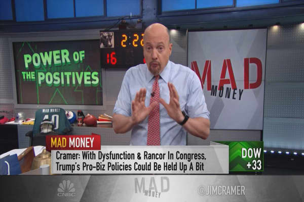 Cramer spells out why you would be a fool to bet against the market now