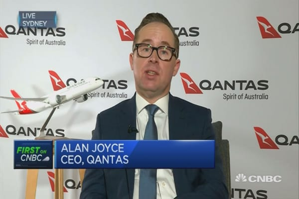 Qantas is outperforming competitors: CEO