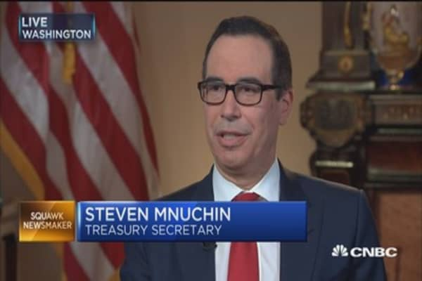 Treasury's Steve Mnuchin: We are committed to passing 'significant' tax reform
