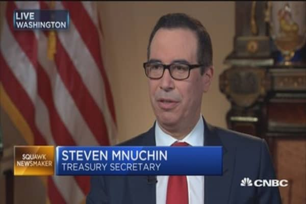 Treasury's Mnuchin: 'Dynamic scoring' very important