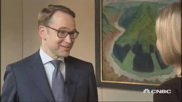 Increased ricks provisiions: Bundesbank president