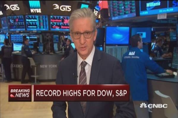 Another new high for the S&P 500 at the open