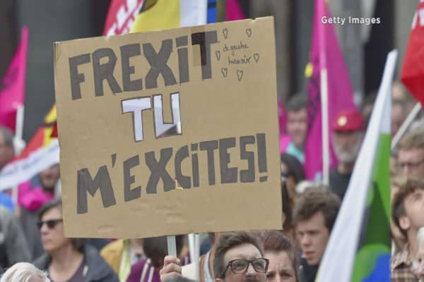 A potential Frexit might be much worse than a Brexit
