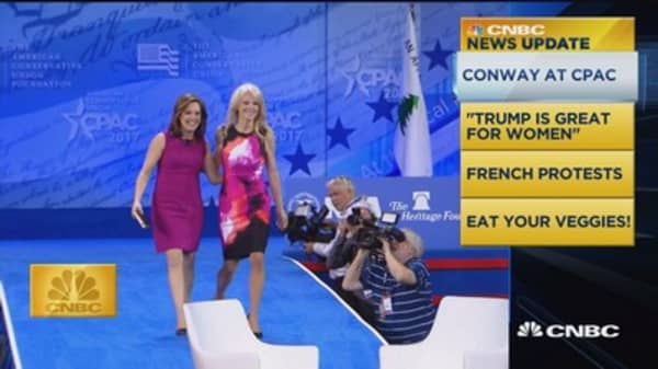CNBC update: Conway at CPAC