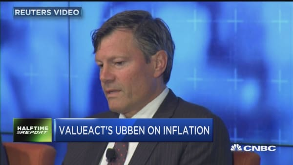 ValueAct's Ubben focuses on the risk of inflation
