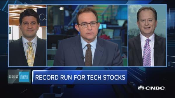 Trading Nation: Record run for tech stocks