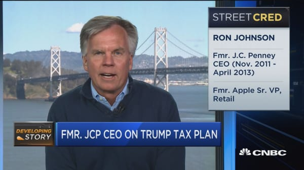 Fmr. JCP CEO on border adj. tax: Timing terrible for retail