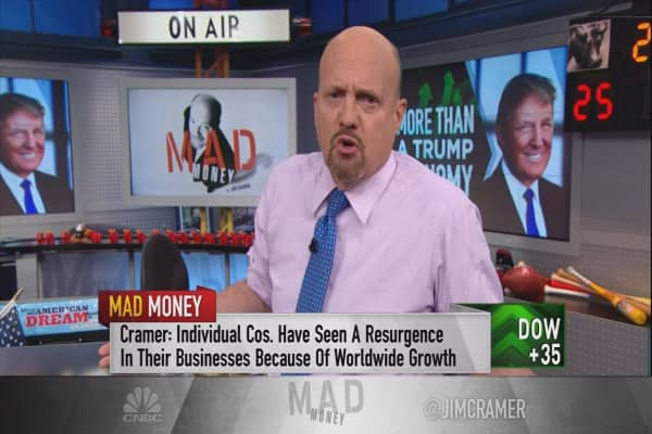 Why stocks are rallying, and it isn't Trump: Cramer