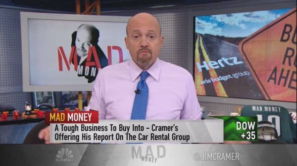 What's destroying value for car rental stocks?
