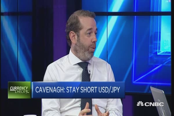 Stay short dollar/yen: Expert