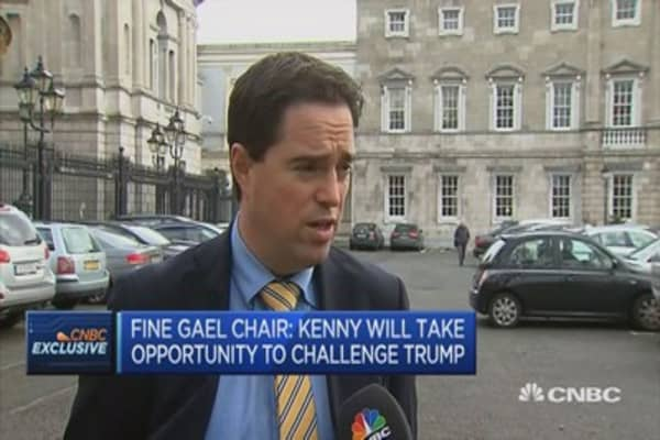 Ireland is still very much open for business: Fine Gael Chair