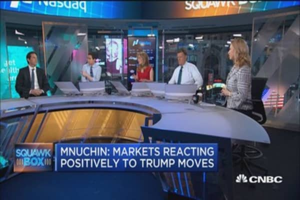 Mnuchin might regret comments about markets reacting positively to Trump: Pro