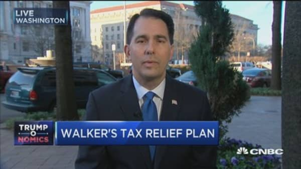 Gov. Walker: States provided way for Trump victory
