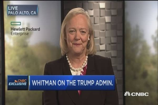 Whitman: Border adjustment tax will not create jobs