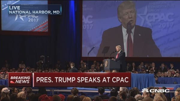 Trump: No one loves the first amendment more than me