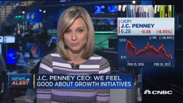 JCP CEO on meetings with lawmakers