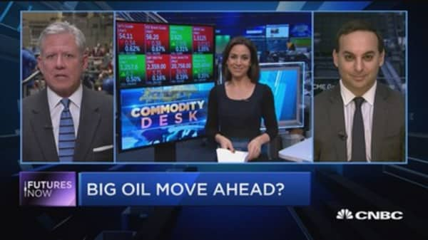 Futures Now: Big oil move ahead?