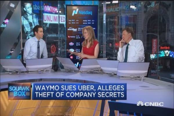 Waymo sues Uber over self-driving car designs