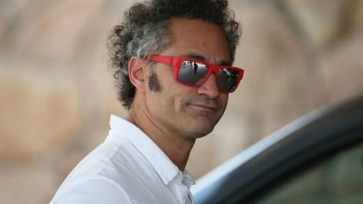 Alexander Karp, CEO of Palantir Technologies Inc.