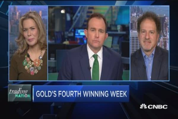 Trading Nation: Gold's fourth winning week