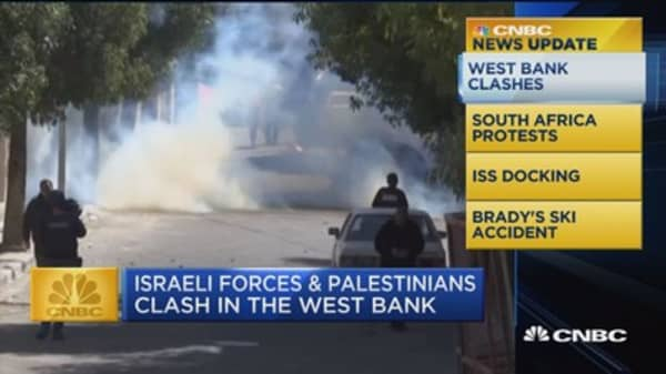 CNBC Update: Clashes in the West Bank