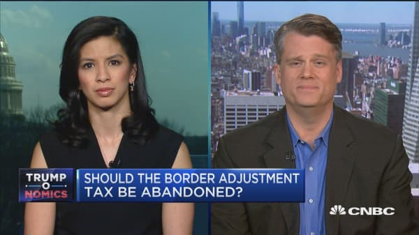 White House denies Axios border adjustment report