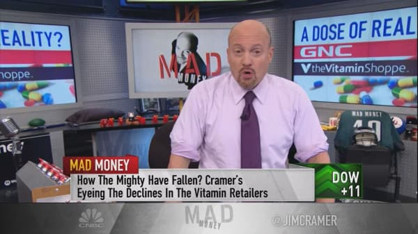 Cramer: Beware of these vitamin stocks in 'existential crisis'