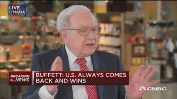 Buffett: Don't make this investment mistake