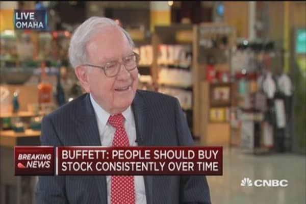Buffett: Pros won't get a better result than index funds