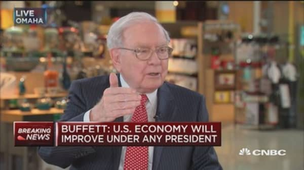 Buffett: Growth is all about productivity