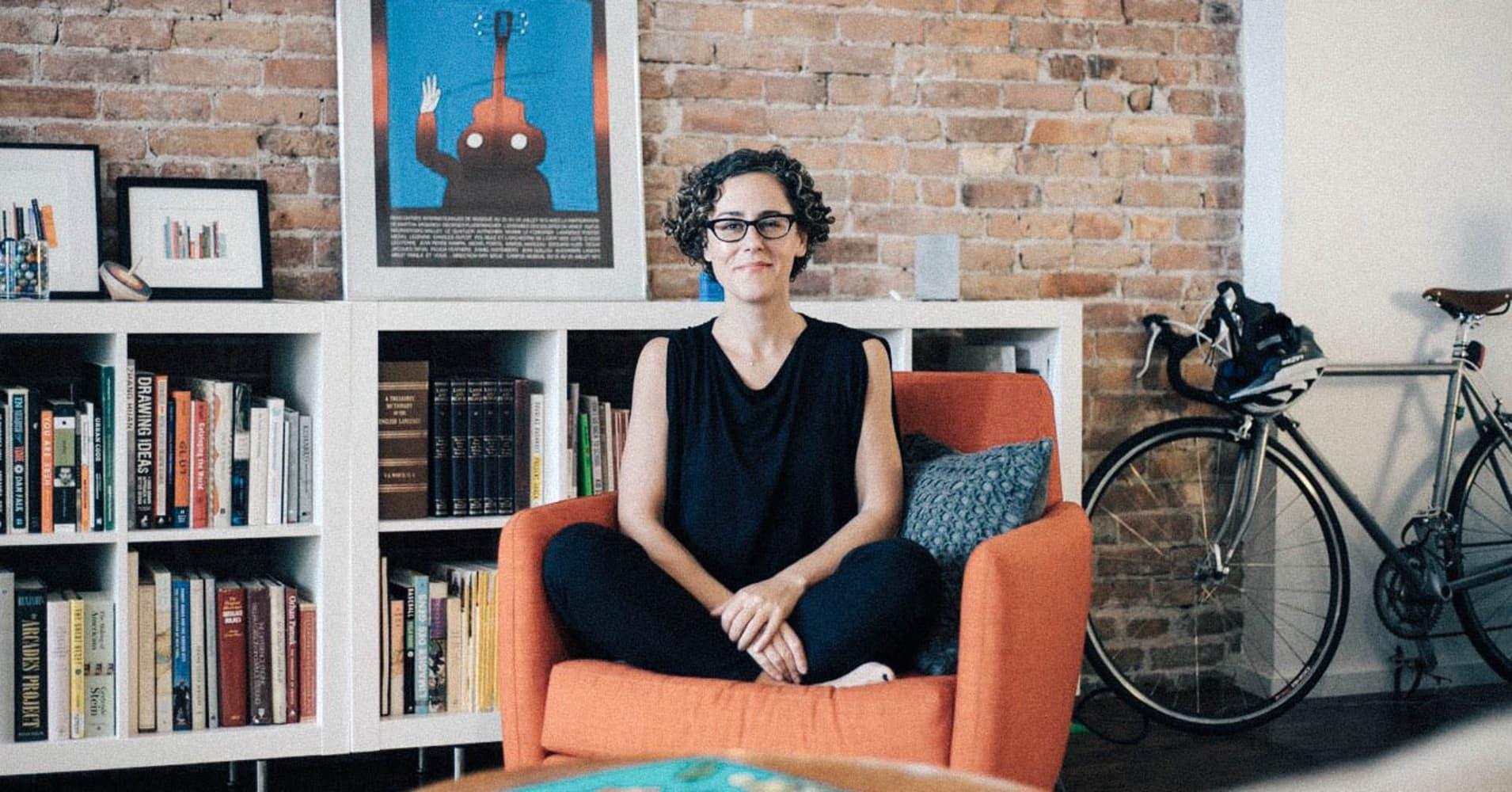 Liz Danzico, NPR's first creative director and co-founder of the School of Visual Arts' MFA program in interaction design.