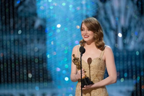 Emma Stone took home the award for best actress at the 2017 Oscars for her performance in La La Land