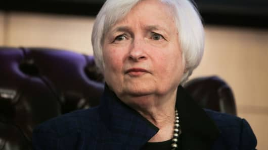 Federal Reserve Board Chairwoman Janet Yellen