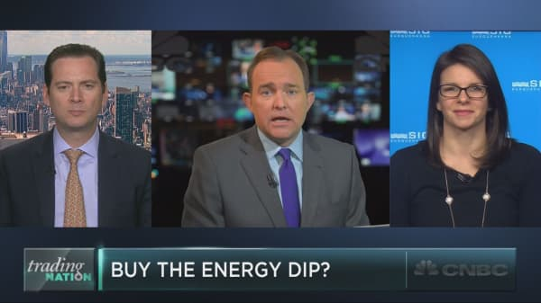 Buying opportunity in energy stocks?