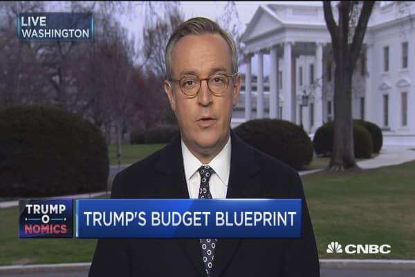 Trump: Budget will include increase in defense spending