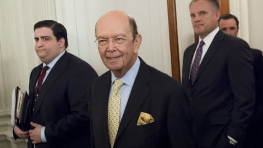 Wilbur Ross, nominee for Secretary of Commerce.