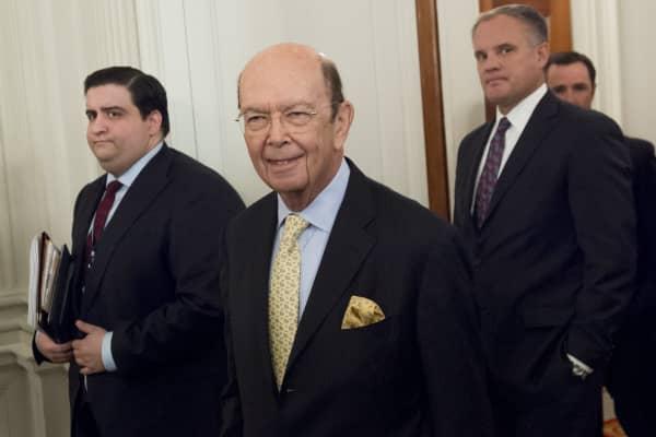 Wilbur Ross, nominee for Secretary of Commerce.