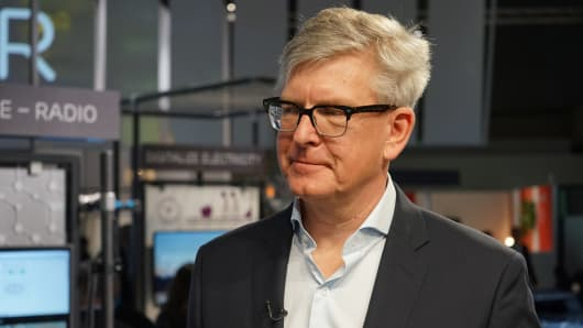 Borje E. Ekholm, CEO Ericsson.