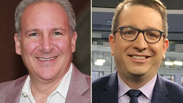 Peter Schiff and Brian Kelly.