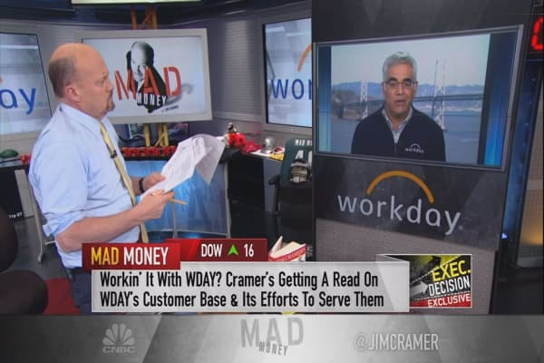 Workday's CEO says turmoil with Oracle's acquisition of NetSuite helped bolster a historic quarter