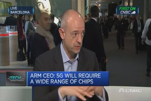 Providing more capability into semiconductor industry: ARM CEO