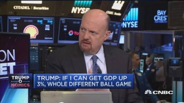 Cramer: Nationalism hasn't hurt economies yet