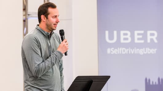 Anthony Levandowski, Otto Co-founder and VP of Engineering at Uber.
